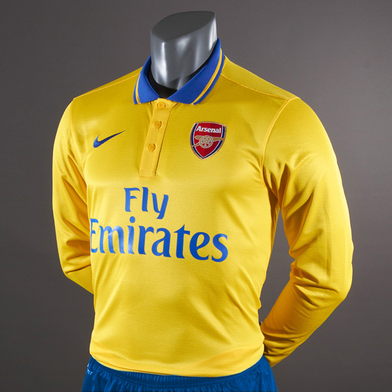arsenal new away kit 2013/14