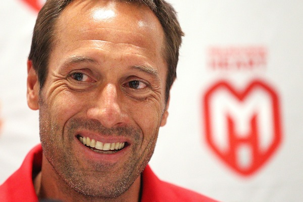 Van't Schip aiming to breed 'total football' at Melbourne Heart