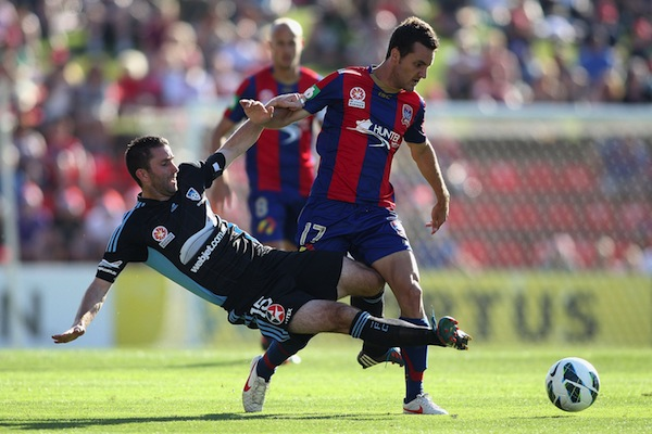 Being ruthless is the key to scoring goals for Newcastle Jets star Virgili