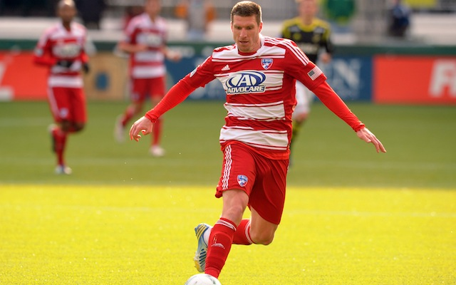 FC Dallas coach Schellas Hyndman defends Kenny Cooper after red card