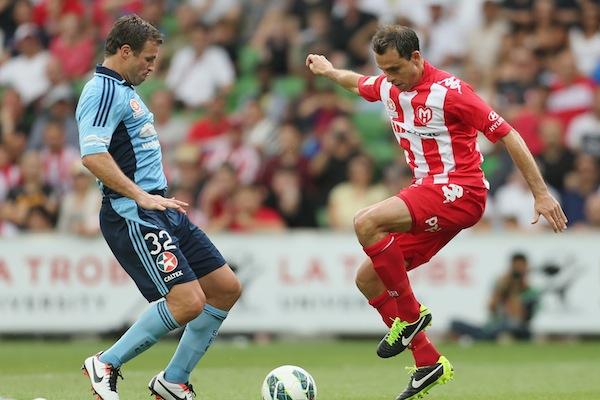 Sydney new-boy Garcia enticed by possible Del Piero partnership
