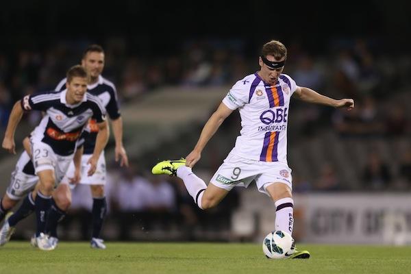 Smeltz targeting a 'massive season' at Perth Glory after injury lay-off