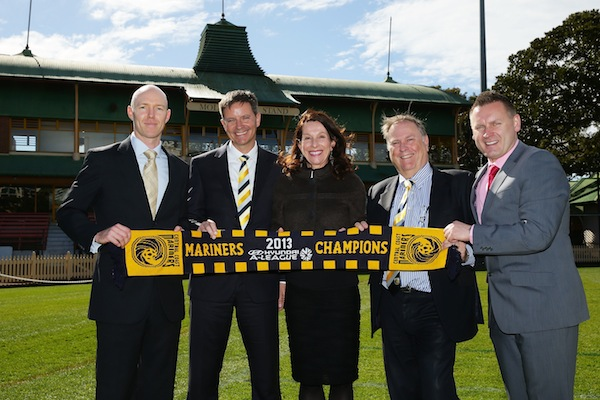 Central Coast Mariners to bring football back to North Sydney Oval