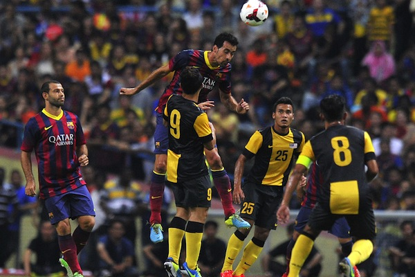 (Video) Barcelona cruise to comfortable 3-1 win over Malaysia  XI