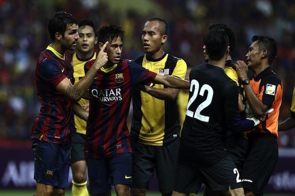 Sport Minister Khairy Jamaluddin blasts Barcelona tour organisers