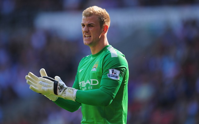 Joe Hart Cardiff City v Manchester City - Premier League