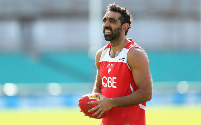 Adam Goodes ruled out of Sydney Swans knockout semi-final