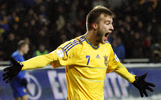 Louis Van Gaal May Bring Ukrainian Winger To Man United This Winter