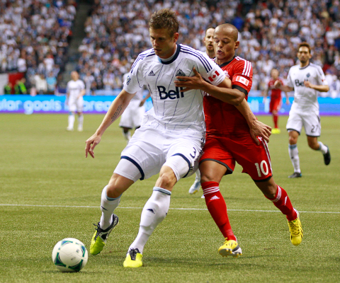 Vancouver Whitecaps' Rusin ruled out with ankle injury, but O'Brien and Miller return.