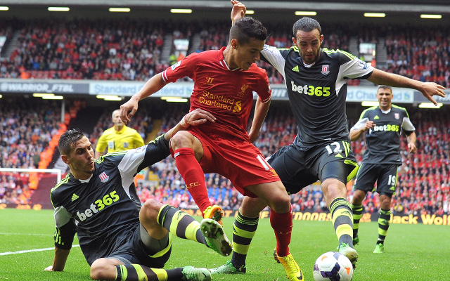 Cameron Coutinho Wilson Liverpool Stoke