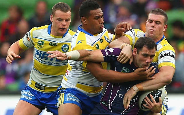 Melbourne Storm steam-roll the Parramatta Eels 64-4