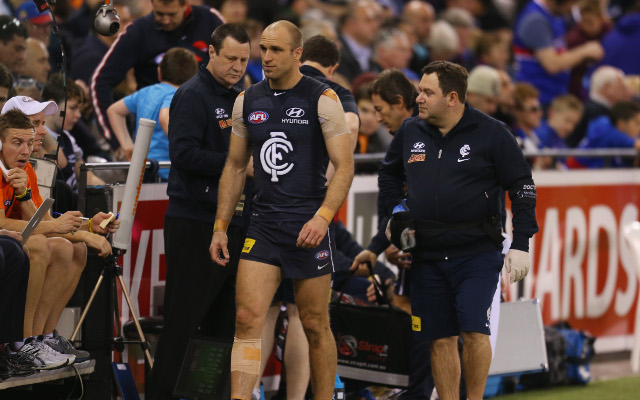 Carlton star Chris Judd set to announce retirement following horror injury