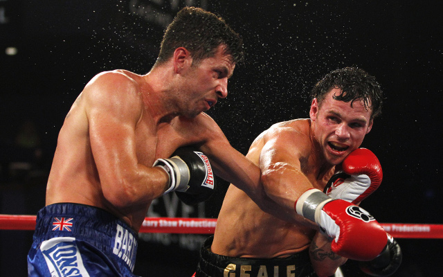 Darren Barker beats Daniel Geale to win IBF middleweight title