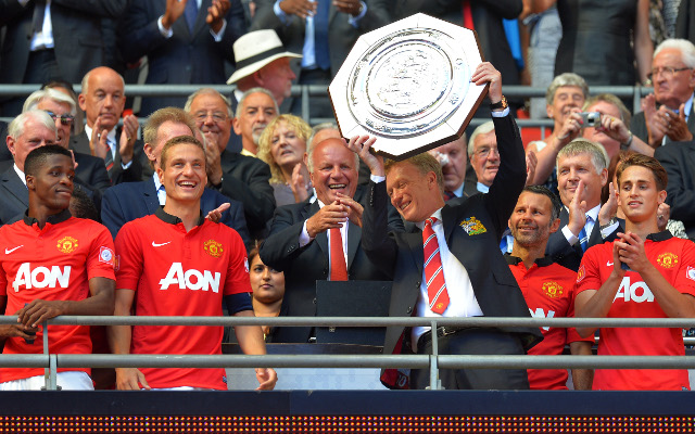 Moyes wins first Manchester United trophy with victory over Wigan in Community Shield