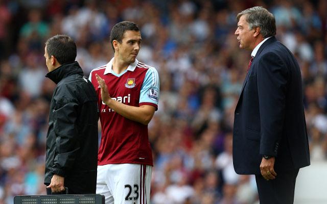 Downing Allardyce West Ham