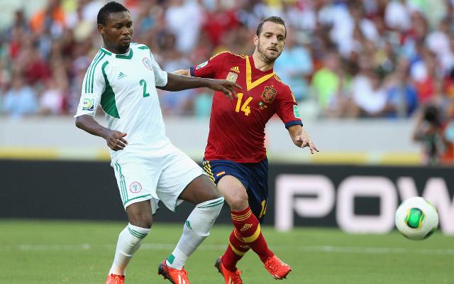 Godfrey Oboabona Nigeria Roberto Soldado Spain