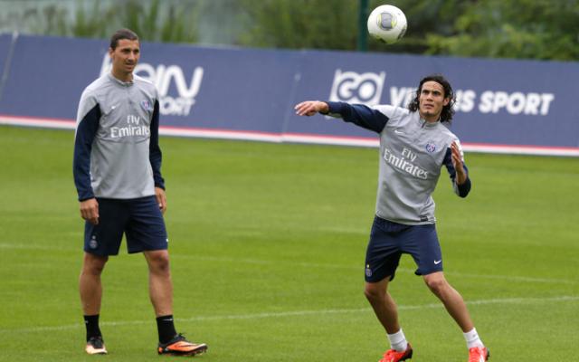 Ibrahimovic Cavani PSG