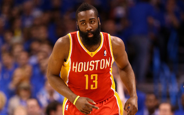 Houston's James Harden ranked the best shooting guard in the NBA