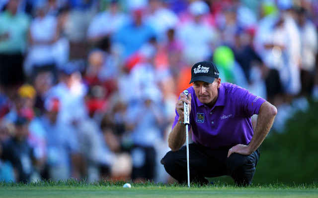 Jim Furyk takes control of the PGA Championship heading into final round