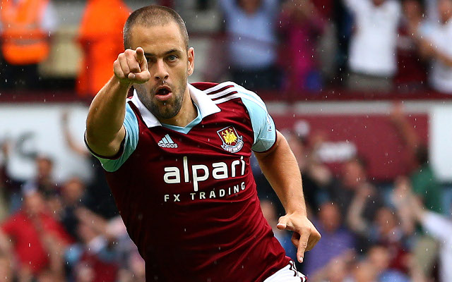 Ex-West Ham and Chelsea midfielder Joe Cole set for Aston Villa medical