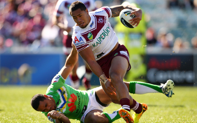 Canberra Raiders suffer NRL finals setback at the hands of Manly