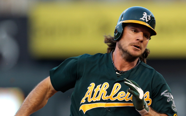 Josh Reddick equals MLB home-run record but cannot provent A's loss