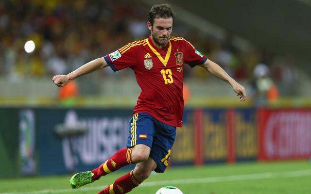 Juan Mata Spain