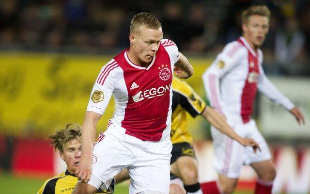 Arsenal ready late transfer bid for Ajax striker