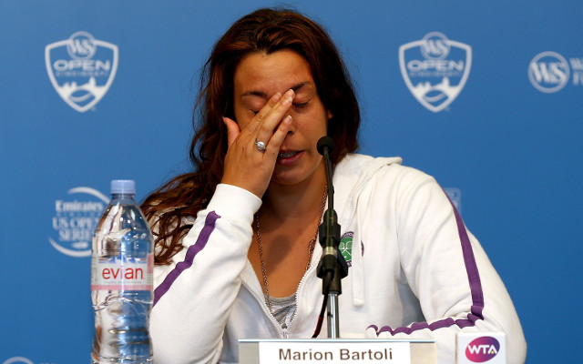 (Video) Retiring Wimbledon champion Marion Bartoli's amazing tennis practice session