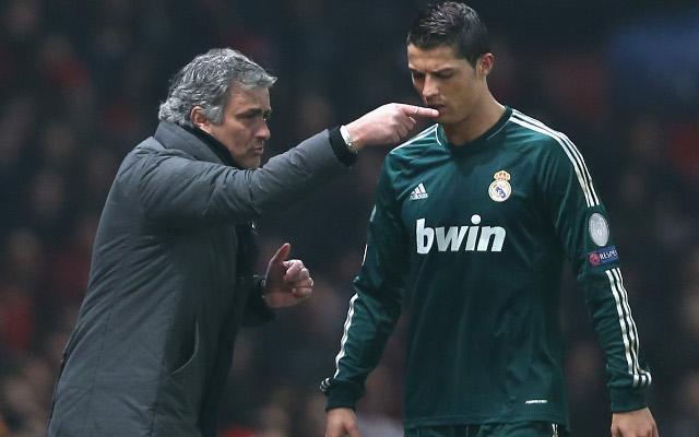 Mourinho Ronaldo Real Madrid