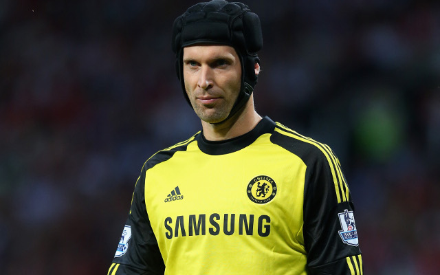 (Video) Chelsea star Cech pulls off impressive skill and penalty save combo