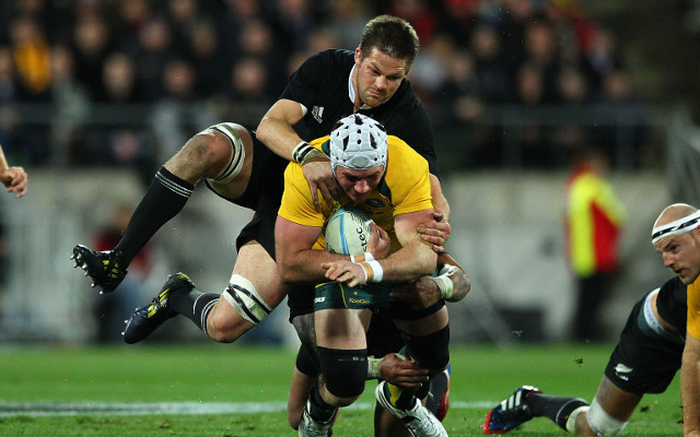 New Zealand retains the Bledisloe Cup after edging out Australia