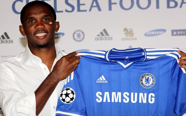 Technical director says failure to land Wayne Rooney forced Chelsea to sign Samuel Eto'o