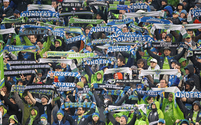 (Image) Seattle Sounders amazing tifo vs Portland Timbers