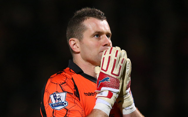 Shay Given Aston Villa