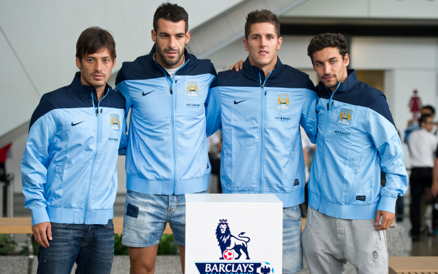 Silva Negredo Jovetic Navas Manchester City