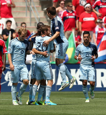 (Video) Feilhaber scores free kick in Sporting Kansas City win