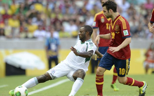 Sunday Mba Nigeria Cesc Fabregas Spain