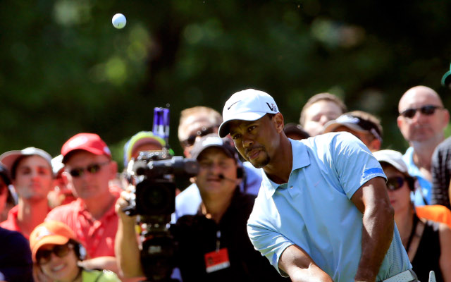 Tiger Woods maintains his massive lead at World Golf Championships