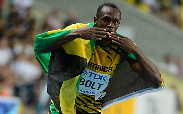 Usain Bolt powers to 200m victory while Britain's Adam Gemili just misses out