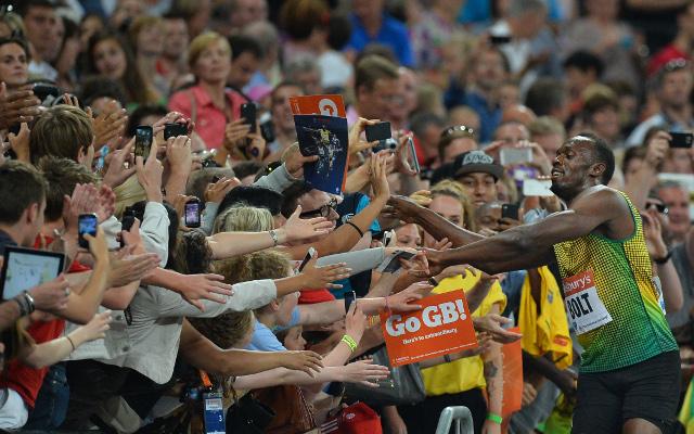 Usain Bolt and Mo Farah seen as the saviours of athletics