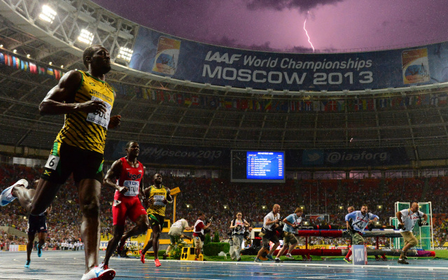 Best sports photograph ever or lucky coincidence – you decide