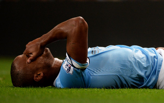 Key Manchester City star out for the season, Manuel Pellegrini confirms
