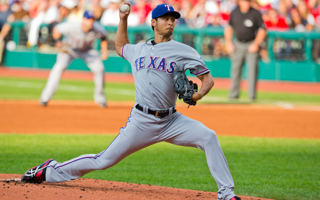 Yu Darvish records career-high 14 strikeouts for Texas Rangers