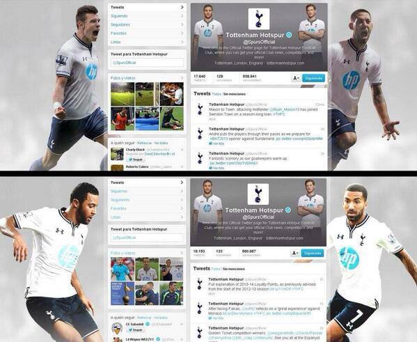 spurs twitter background change