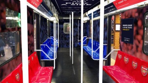 spurs v arsenal subway NYC