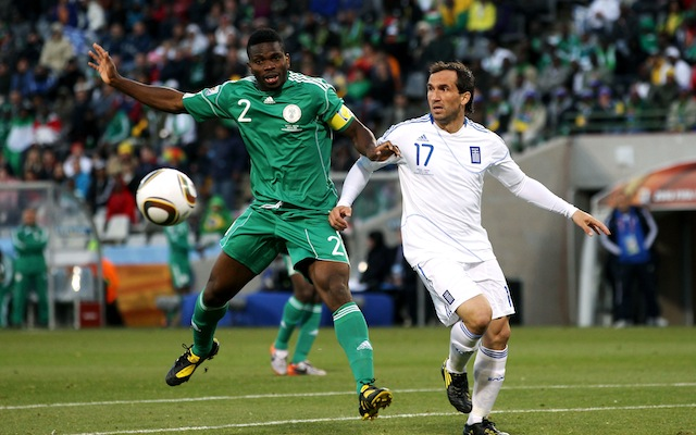 Joseph Yobo deserves 100th Nigeria cap, says legendary defender Taribo West