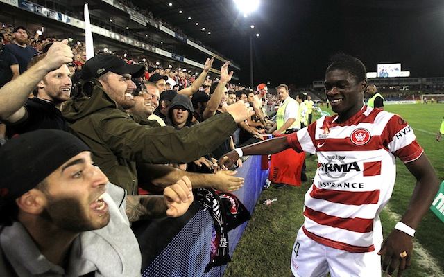 Kwabena Appiah pens contract extension at Western Sydney Wanderers