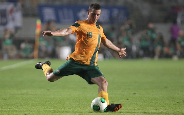 (Image) Socceroos star Mitchell Duke packed and ready for Brazil friendly