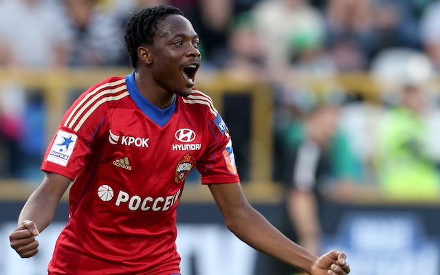 Ahmed Musa FC Tom Tomsk v PFC CSKA Moscow - Russian Premier League